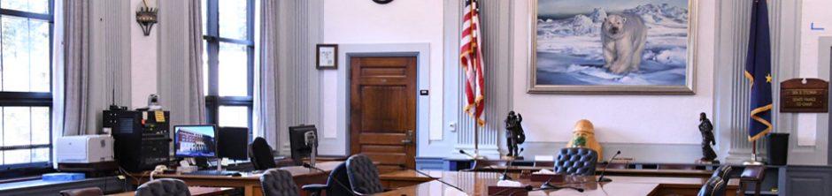 Alaska State Senate Finance Committee Room