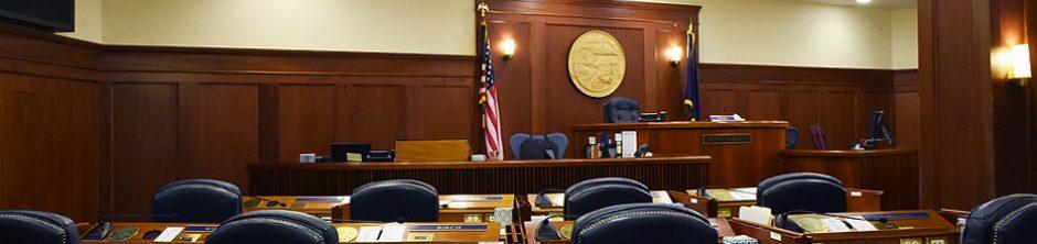 Alaska State Senate Chambers