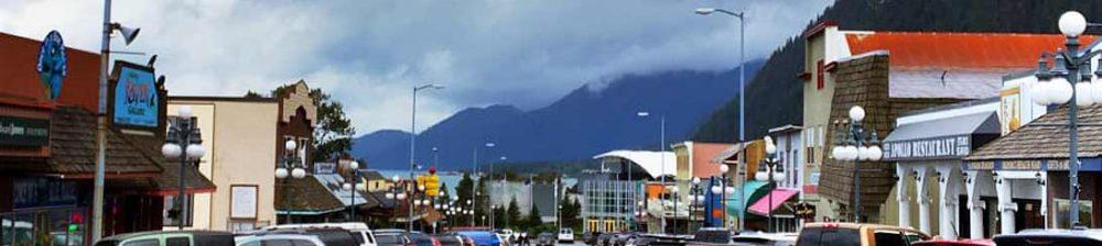Downtown Seward, Alaska